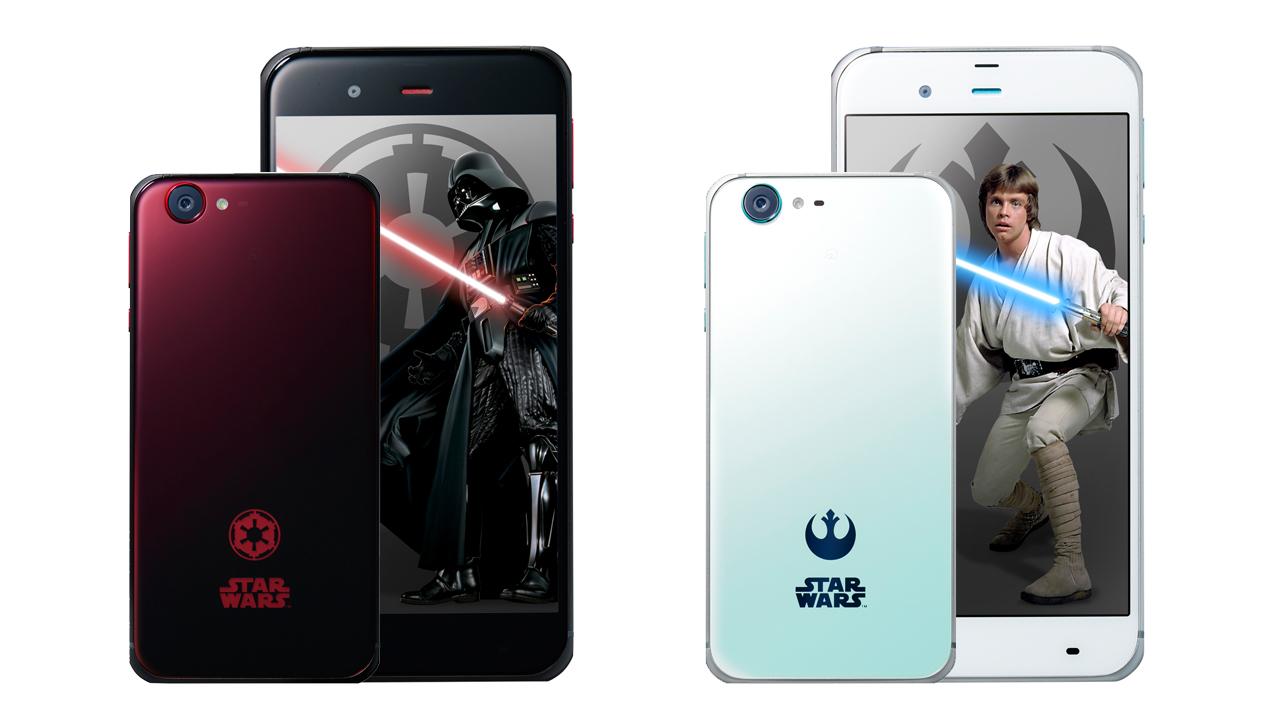 スター・ウォーズスマホ「STAR WARS mobile」が12月2日に発売。価格は42,720円から