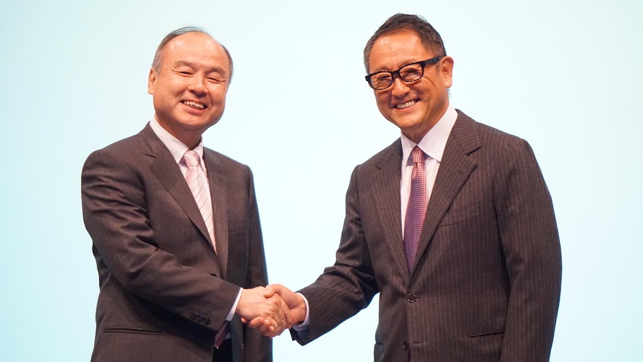 速報:ソフトバンクとトヨタが新会社「MONET」を設立