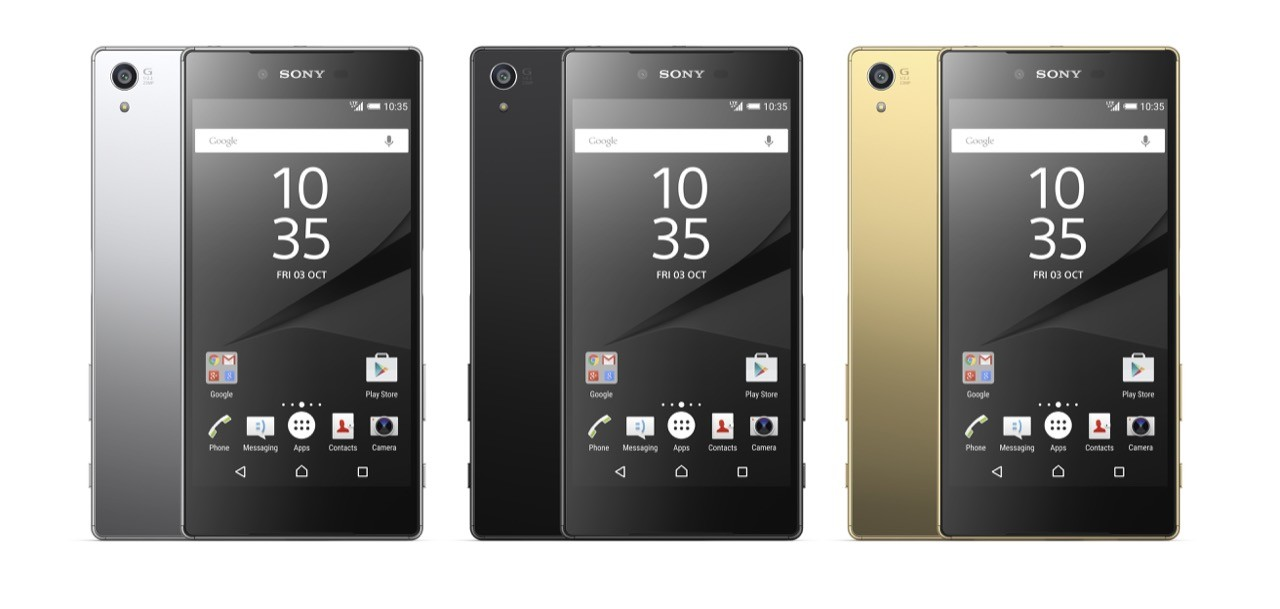 ソニー、「Xperia Z5 Premium」を11月発売――世界初の4Kディスプレイ搭載スマホ