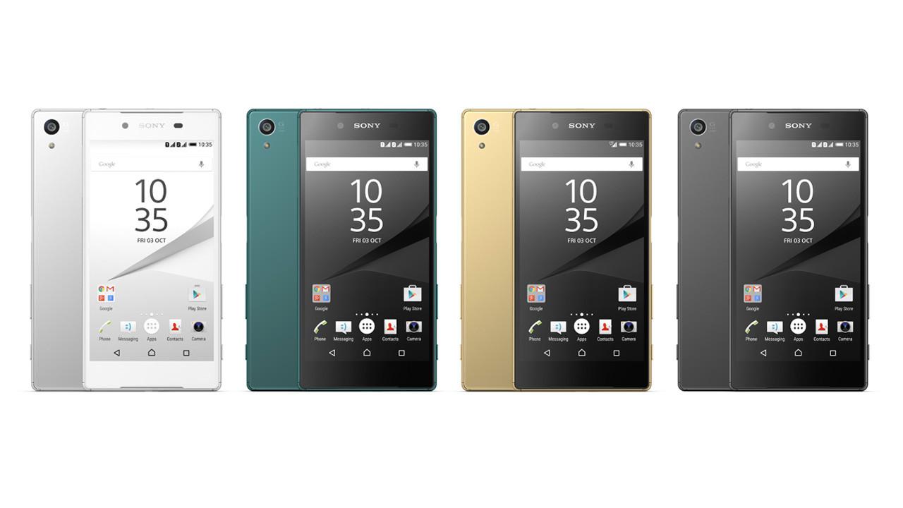 ソニー、「Xperia Z5」を10月発売 シリーズ初の指紋認証、23MP/0.03秒高速AFのカメラ搭載