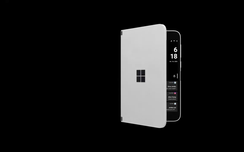 """2画面スマホ「Surface Duo」、通知の""""のぞき見""""が可能に"""