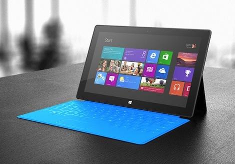 マイクロソフト、「Surface」の価格を発表!約4万円から販売。