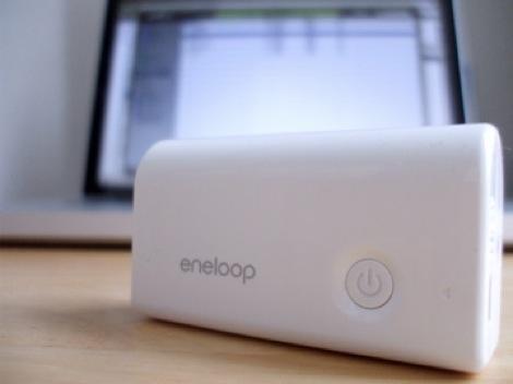 レビュー:スティック型のモバイル充電器「eneloop mobile booster」
