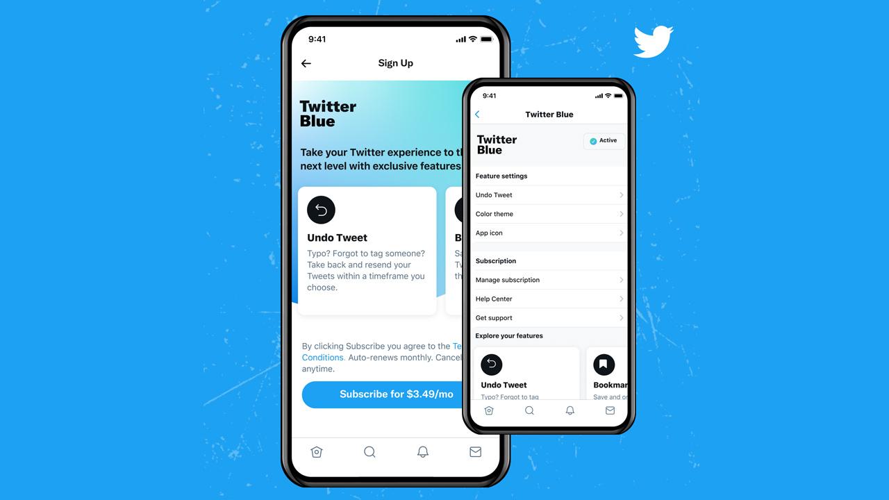 速報:Twitter初のサブスク「Twitter Blue」提供開始。日本での提供未定