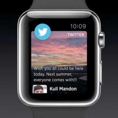 Twitter、最新バージョンで「Apple Watch」アプリを取り下げ。不具合が原因か