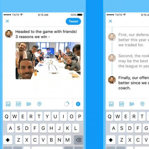 Twitter、複数のツイートをつなげて投稿できる新機能「スレッド」が登場