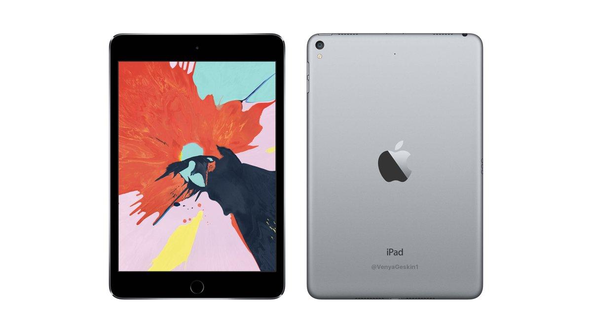 Apple、3つの新型iPadとiPad mini 5を2019年中に発売か