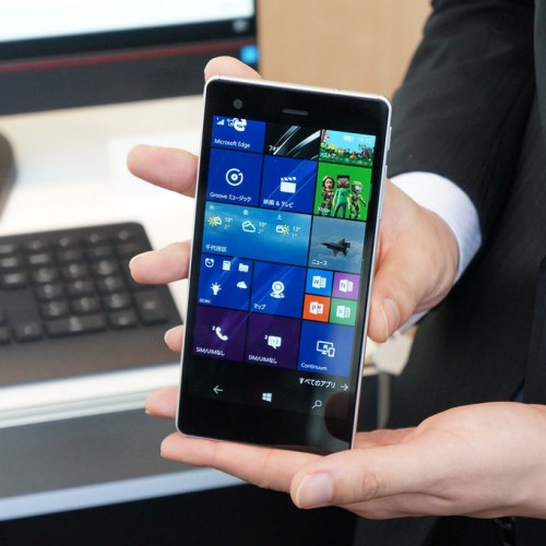「VAIO Phone Biz」フォトレビュー、1年遅れでやってきた真のVAIO Phone
