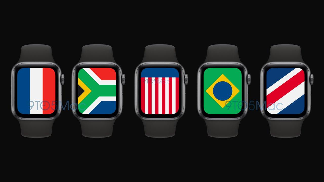 watchOS 7、国旗をモチーフにした新しい文字盤が追加か