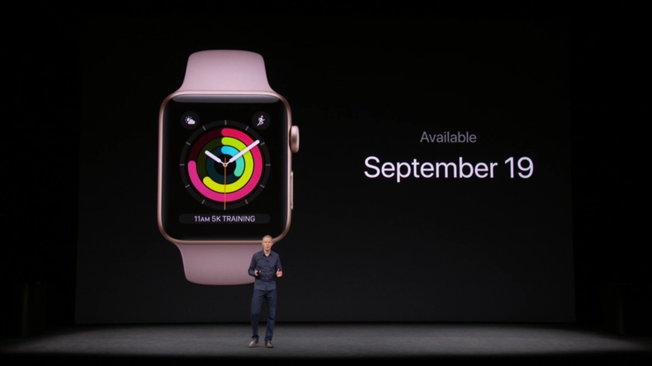「watchOS 4」のアップデート配信日が9月19日(火)に決定