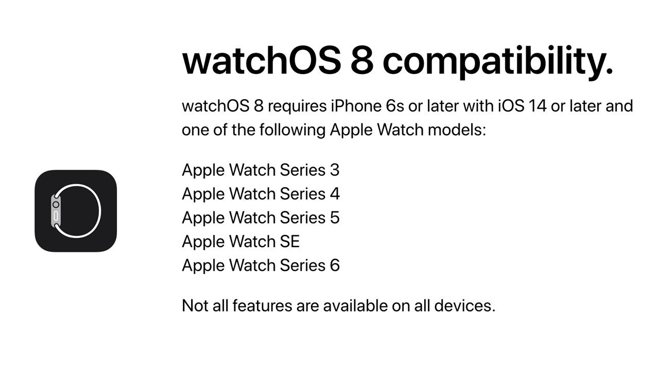 今年秋登場のwatchOS 8、iOS 14のままでもアップデート可能に