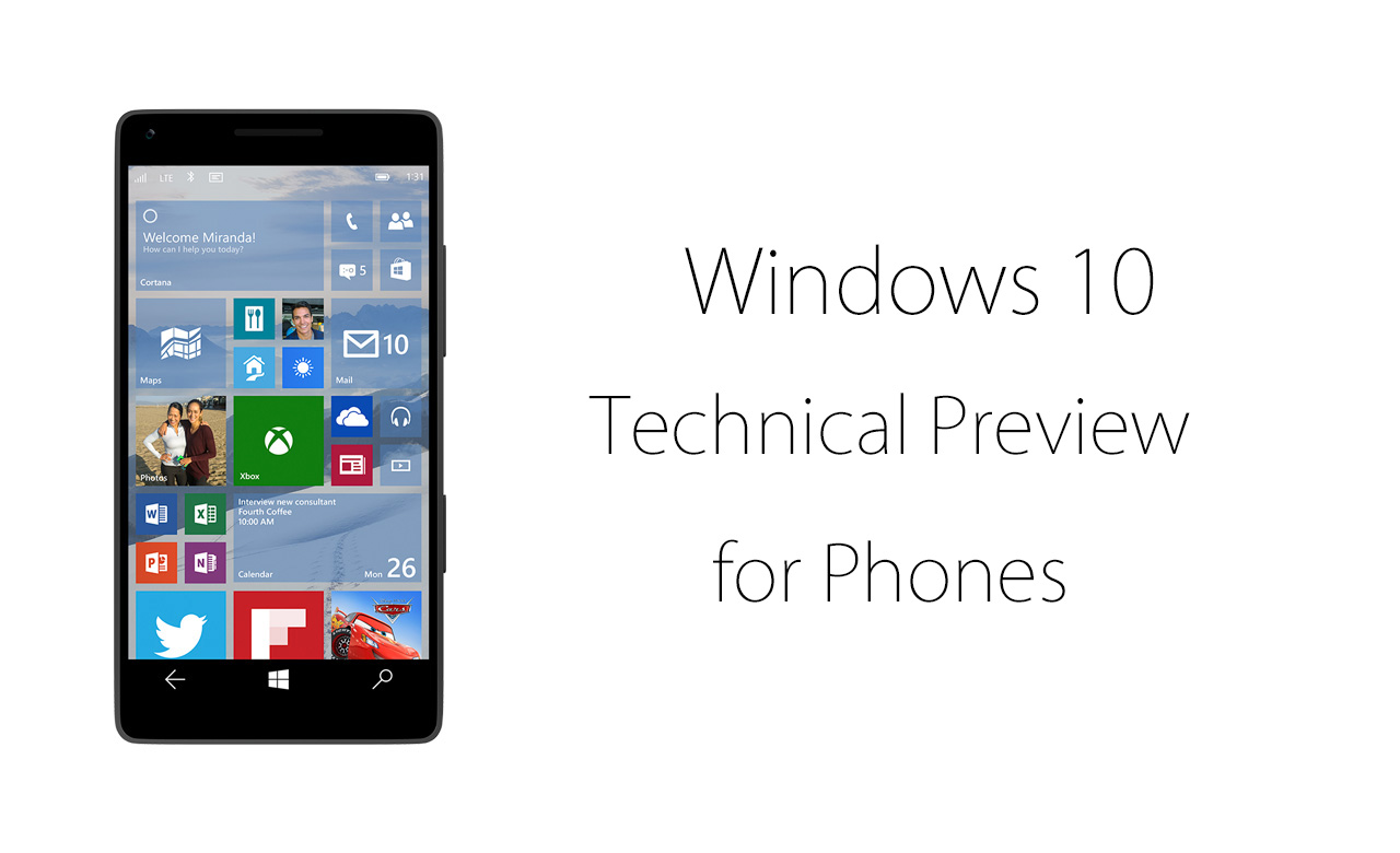 「Windows 10 for Phones」をいち早く試せるテクニカルプレビュー版が公開――インストール方法を解説