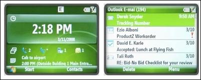 マイクロソフト、Windows Mobile 6.1を発表。