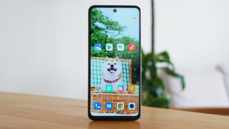 Xiaomi redmi note 9s レビュー