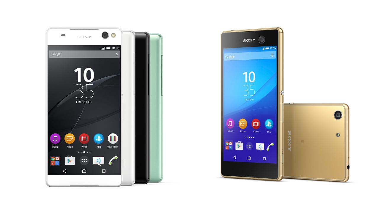 ソニー、「Xperia C5 Ultra」と「Xperia M5」を公式発表――発売日は8月中旬