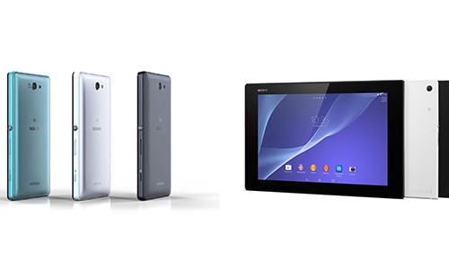 ソニーモバイル、Xperia ZL2とXperia Z2 Tabletを発表ー発売日は5月下旬以降に