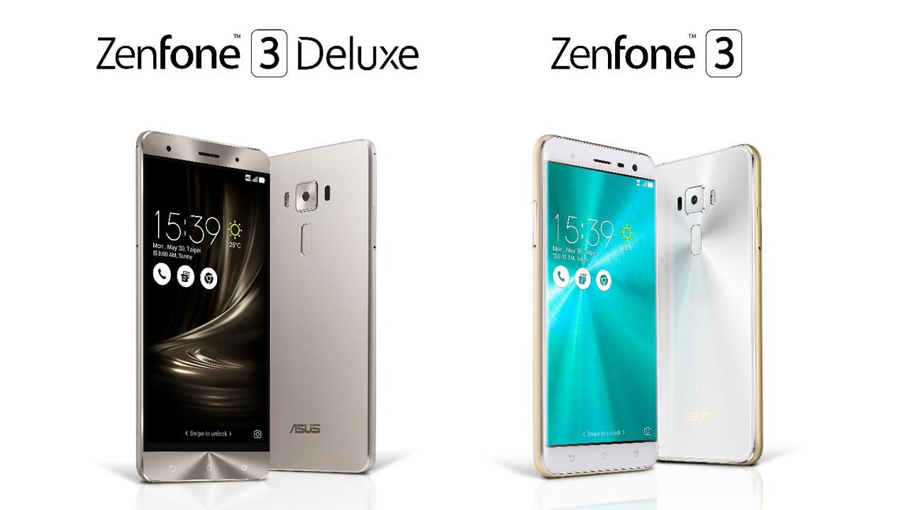 Zenfone 3 / 3 Deluxe 日本発売日は10月7日から、価格39,800円〜で発売